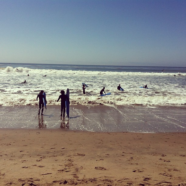Beach day in Santa Cruz http://bit.ly/13ElbK8