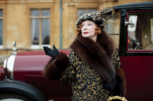 David Bianculli on Shirley MacLaine's new role in Season Three of Downton Abbey:    Out of desperation, Cora, his American wife, sends for her wealthy mother to visit, in hopes that the Crawley women can persuade her to finance their lavish lifestyle. The mother, Martha, is played by new cast member Shirley MacLaine, who's excellent. She doesn't steal the show — she can't, not with Maggie Smith already dominating every scene she's in as Cora's mother-in-law, the acerbic, sarcastic Dowager Countess — but MacLaine fits in perfectly.