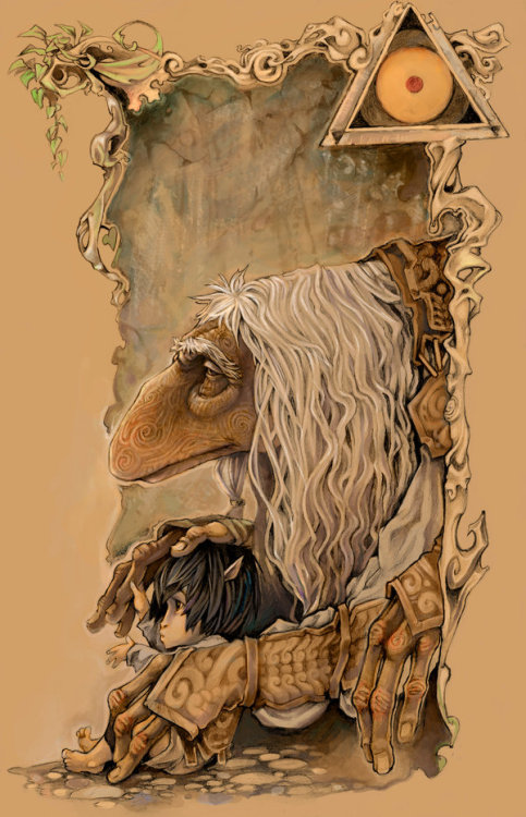 Dark Crystal Guest Art by ~AyameFataru