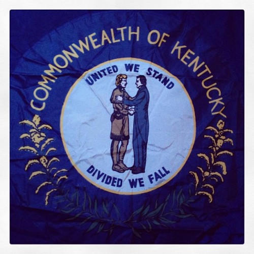 Flag of the Commonwealth of Kentucky (at The Bell House)