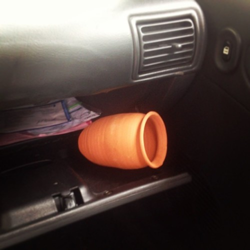 YES officer i do have a little pot in my glove compartment 👮