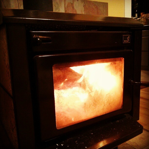 Wood burning #stove