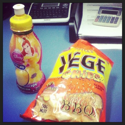 My healthy lunch at work 😋