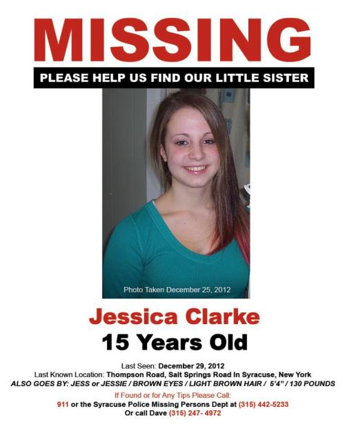 seirye:  Not looking for karma. Please upvote to help find Jessica. - Imgur