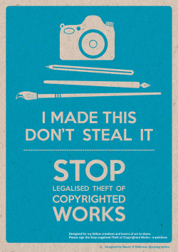 betype:  Stop Legalised Theft of Copyrighted Works (by Hi Ni)  Get inspired on Betype.co