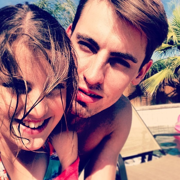#family #sister #pool #ca #summer #sun #instadaily #iphonography #love #ca #best #adorable #best #instagay #gay