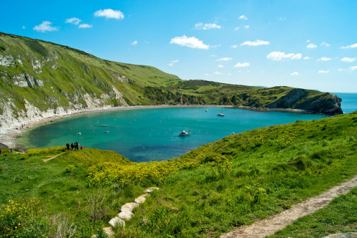 Lulworth Cove by hutchyp on Flickr.
