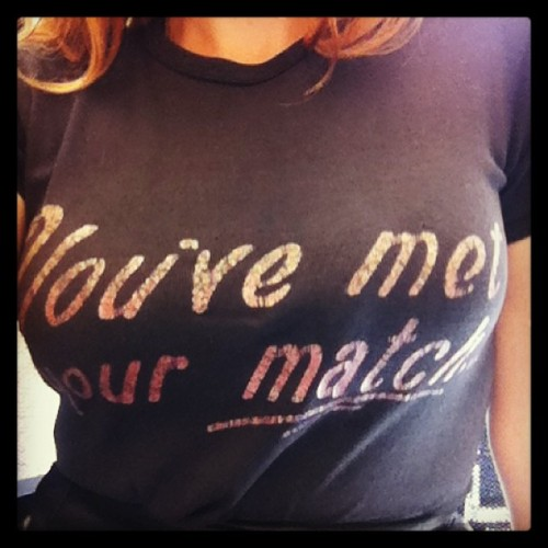 shopfoxyrae:  You've met your match vintage tee #foxyrae #vintageshop #vintage #party