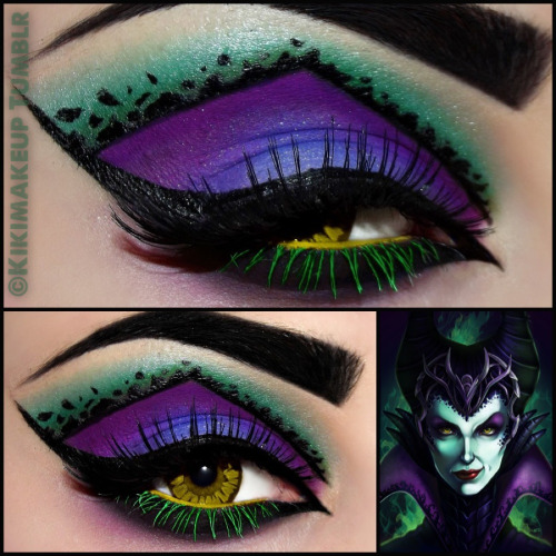 petitedeath:  kikimakeup:  MALEFICENT!  where do I get eyeliner with this?!