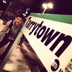 #tarrytown don @ricenbeats  (at Metro North - Tarrytown Train Station)