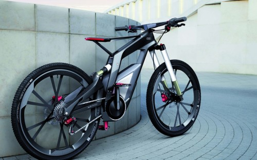 armedskeeter:  Audi Bicycle