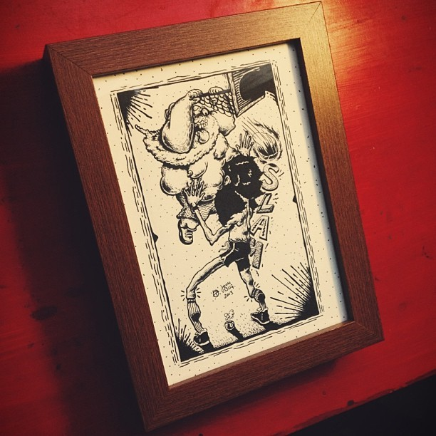 Framed up for @lilgman210 #commission #illustration ✨👍✨