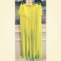 Neon skirt by #manoush #style #fashion #instafashion #instastyle #detaillovin #detail #ilovefashion #cute #love #girly #statement #loud #trend #dubai #lovethis