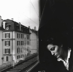 Sabina, Lausanne 1993, Photo: Jean-Pascal Imsand   via valscrapbook: greeneyes55