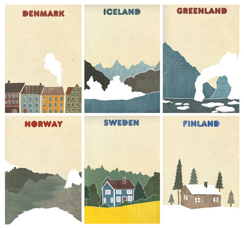 foxfromparadise:  Nordics ♥ expect Finland of course, but where's Faroe Islands?