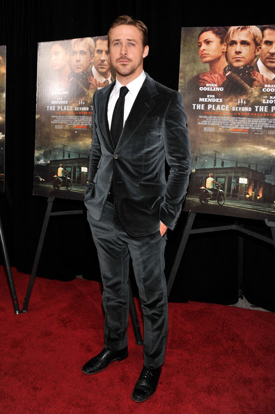 Ryan Gosling at the NYC premiere of The Place Beyond the Pines at Landmark Sunshine on March 28, 2013