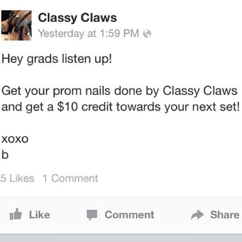 Hey #vancouver #vancity #richmond #burnaby #grads book your #prom nails now! #vancouverprom