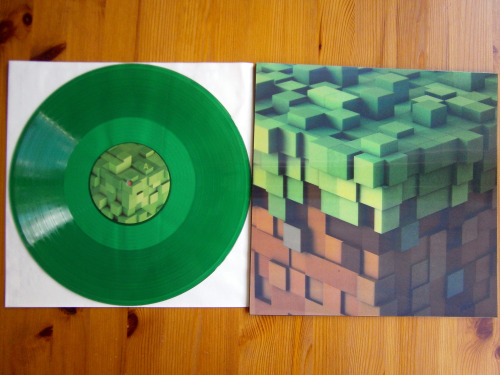 c418 minecraft minecraft volume alpha ghostly ghostly international vinyl colored vinyl lp music records record collection electronic score soundtrack video game music video game soundtrack mojang