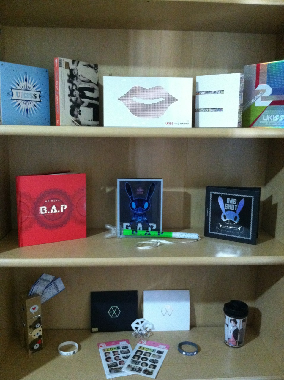 chanki-winki:  kpoppingguhl:  chanki-winki:  My bookshelf of truth  That is amazing.   Thank you ^^
