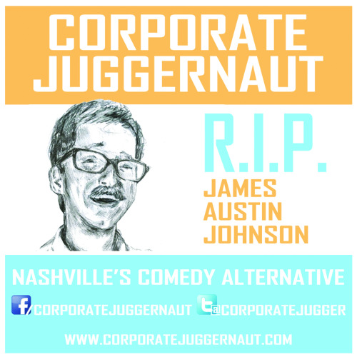 We got stickers! Next time you're at a Corporate Juggernaut show, be sure to grab one before they run out! Or just look for them stuck to urinals in bars all around Nashville.