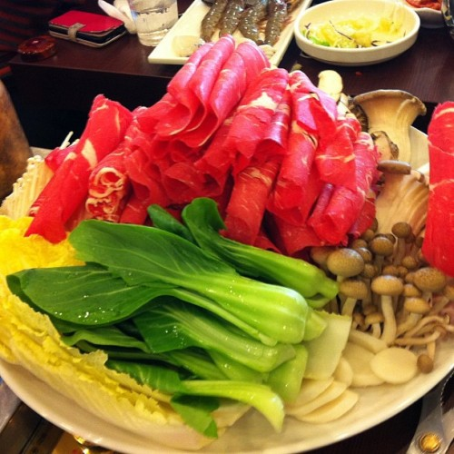 #shabushabu for #lunch. #food #korea #delicious #yum