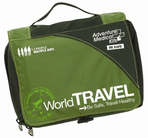 Adventure Medical Kits World Travel Kit by Adventure Medical Kits 4.6 out of 5 stars  See all reviews (8 customer reviews) List Price:	$83.33 Price:$55.56 ($1.98 / oz) & FREE Shipping. Details You Save:$27.77 (33%)