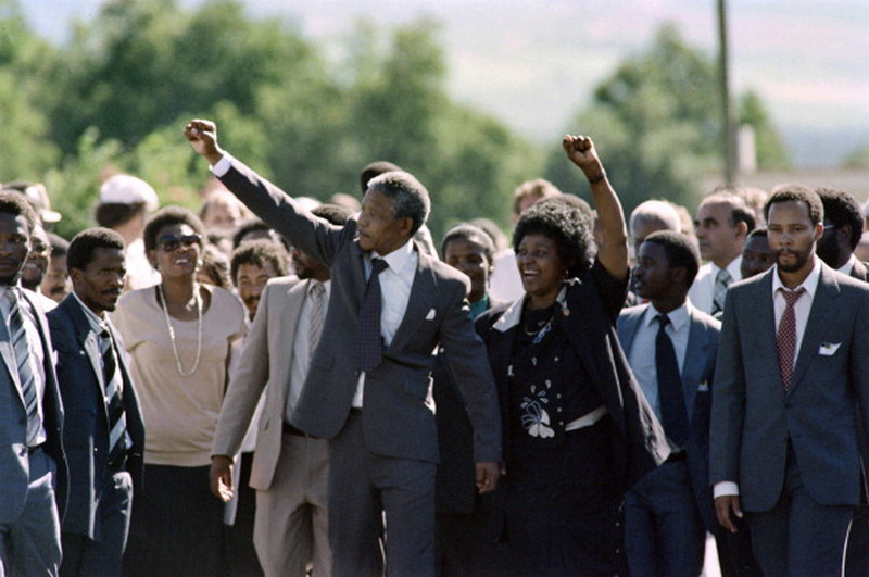BACK IN THE DAY |2/11/90| Nelson Mandela was freed from Victor-Verster Prison in South Africa after 27 years.