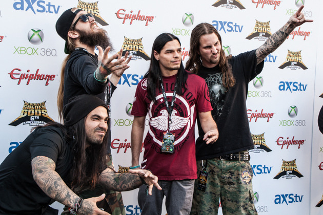 bryanstars:  Suicide Silence has revealed in a new interview they will indeed be releasing a new DVD featuring the Mitch Lucker memorial show. The band also hopes to release some other new things in the coming year. Check out a bit of the interview below.  I know you say you don't want to think about what's next, but might there be some hidden tracks or compilations in the works that could keep fans involved while your taking the time to figure out that next step? We will definitely be releasing a memorial DVD from the memorial show we did for Mitch. We played in California last year and that will definitely be coming out, so we definitely have at least a couple of more releases in the coming year — DVD stuff and you know, like we said, we don't have plans on anything else.