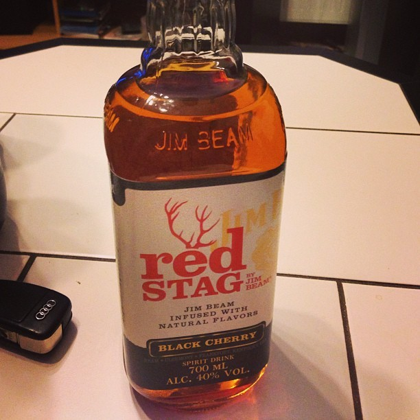 Rad Stag #whiskey #red Stag #jim beam