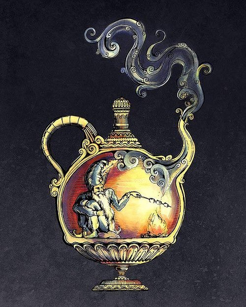 sleepypsychedelia:  Lamp