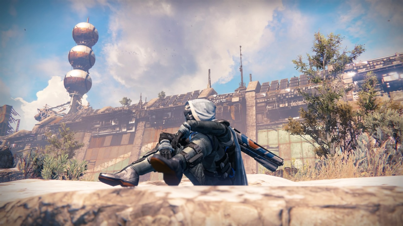 6 Years Time #destiny#destiny 2 #the young wolf #the cosmodrome