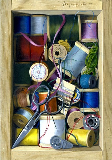 stilllifequickheart:  Jorge Alberto The Sewing Kit 21st century