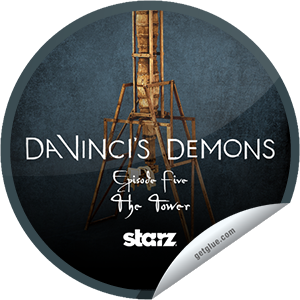 I just unlocked the Da Vinci's Demons: The Tower sticker on GetGlue                      856 others have also unlocked the Da Vinci's Demons: The Tower sticker on GetGlue.com                  You checked-in during episode 105, 'The Tower,' and unlocked the Camera Obscura sticker. A cunning apparatus of lenses and prisms, it is a most eye-openinginvention.  Share this one proudly. It's from our friends at STARZ.