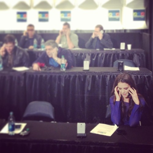 Last chance to speak to our celebrity phone bank.  Call 1-855-465-4357 to donate to the Robin Hood Relief Fund!