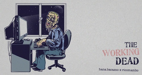 threadless:  The Working Dead by hana.bacasno and ricomambo has risen for scoring on Threadless!