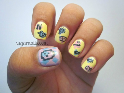 jhudmeetstamagotchi:  sugarnails:  I know I'm not the only one who's obsessed (again) with the Tamagotchi since the app came out.  yeah you really are not