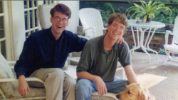 benedictbooty:  dolce-they-say:  John and Hank Green in the 90s yo  [CACKLES HYSTERICALLY]