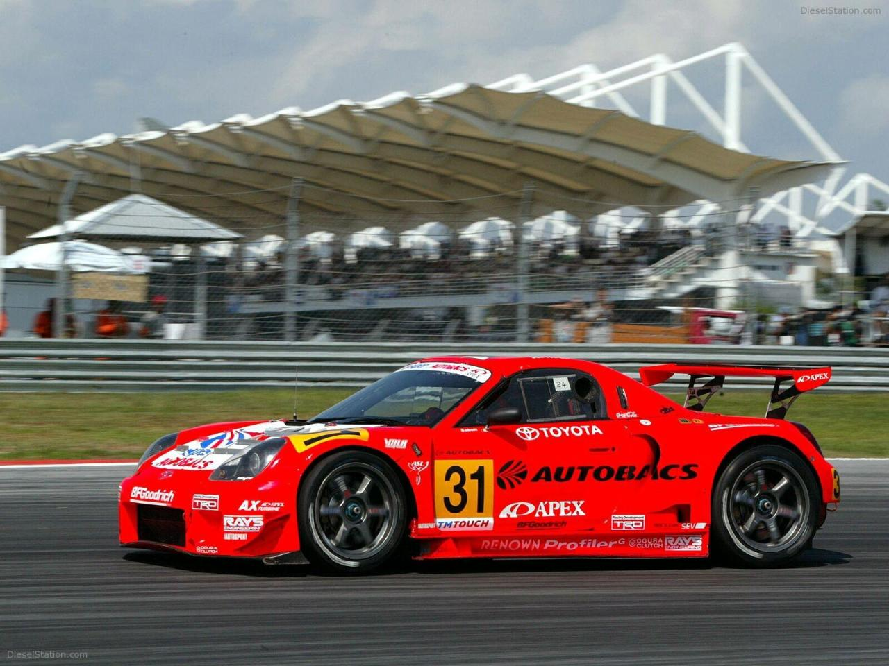 toyotaenthusiast:  Probably the best looking MR-S ever, the Autobacs JGTC MR-S powered by a 3SGTE.
