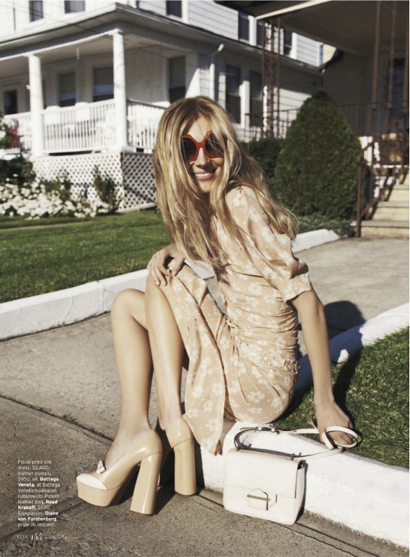 mychampagneshowersnet:  (via Olga Sherer by Benny Horne for US Elle January 2013)
