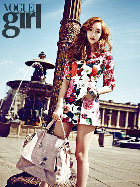 SNSD: Jessica - Vogue Girl Magazine Photos (2)