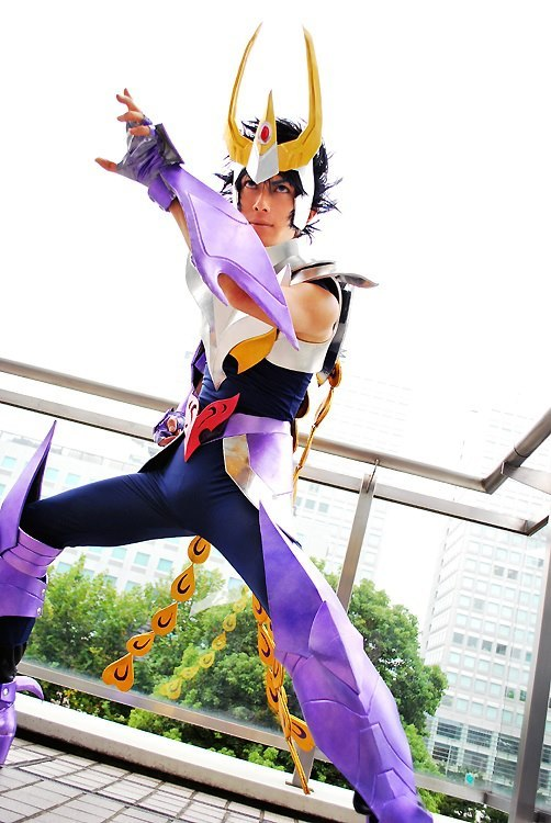 Myth Cloth Ikki V3 from Saint Seiya