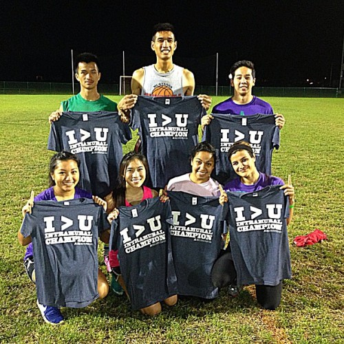Swag sauce repeat champions. #flagfootball #champs #champions #repeat #2peat #swag #sauce #intramurals #uta #IMChamps #4man #4v4