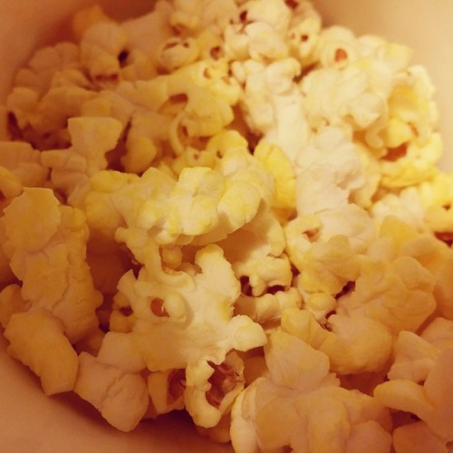 Disneyland popcorn is f $&!*in incredible. Seriously.  (at Disneyland)