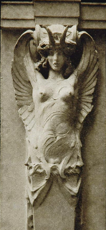 firsttimeuser:  Caryatid, sculpture by John Bateman and A. Stirling Calder