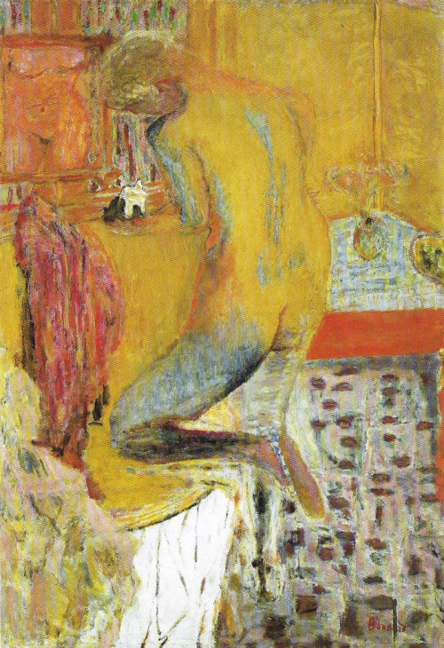 Pierre Bonnard - Nude Bathing (1930)