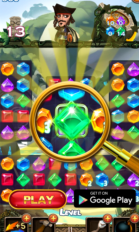 Crazy Jewels: Best Match Three Game Ever - Games - Hot Topic