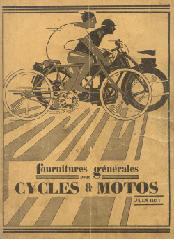 oldadvertising:  cyclesmoto p0 by pilllpat (agence eureka) on Flickr. 1931