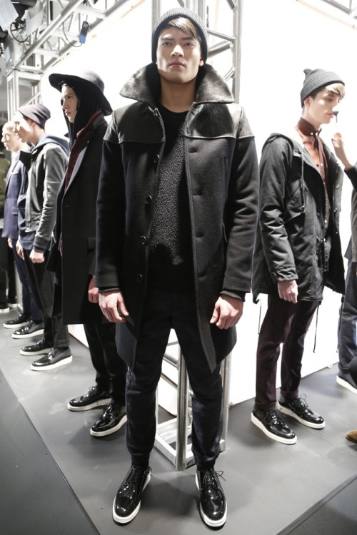 New York Fashion Week: Public School Men's RTW Fall 2013.