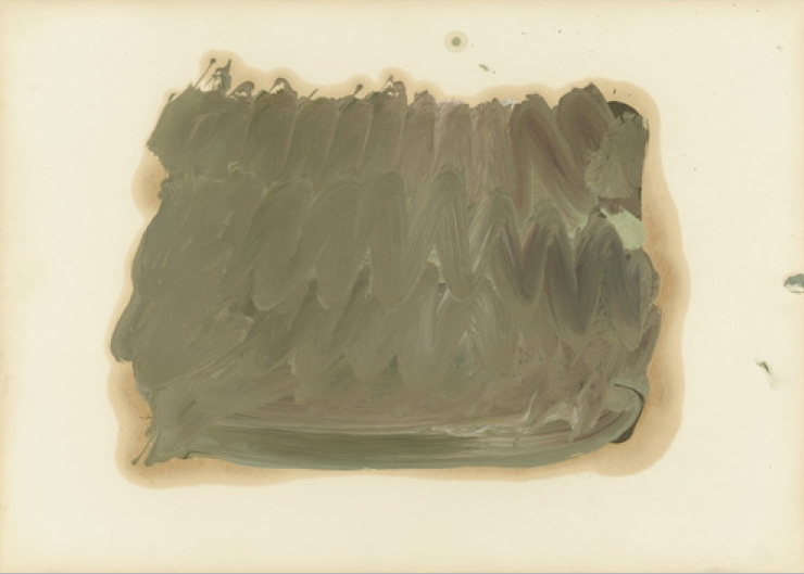 Gerhard Richter - Skizze zu Parkstück, Sketch for Park Piece 1971