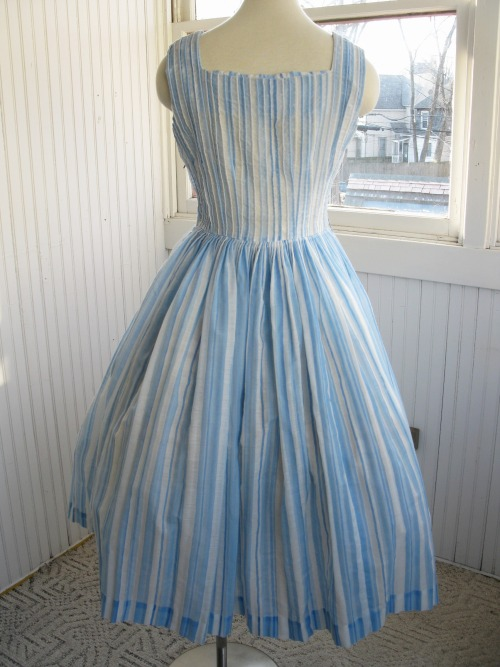 Gorgeous 1950s sheer airy L'Aiglon dress. Purchase at Vintage Bunker.